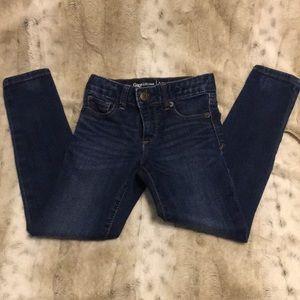 GAP Slim Super Skinny Jeans 👖 Little Girls Size 6